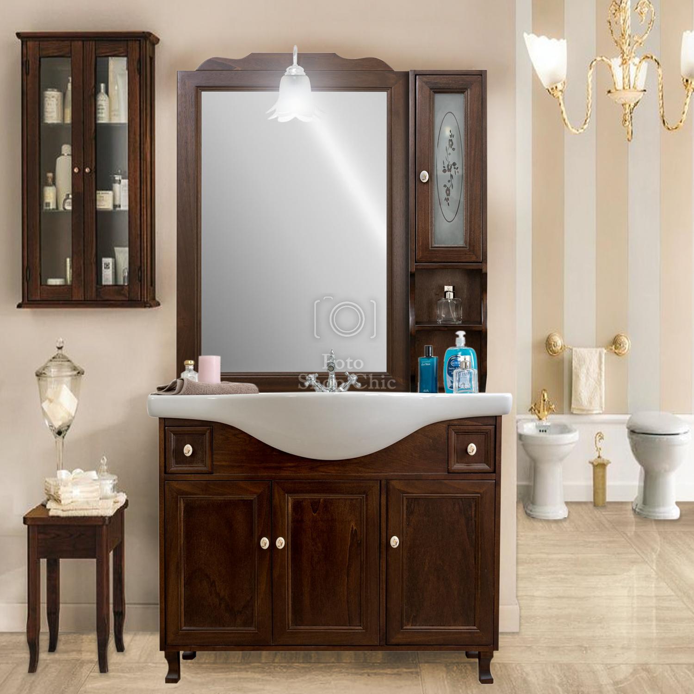 Accessori Per Bagno Arte Povera.Arredo Bagno Arte Povera Base Lavabo Specchio Pensile Applique Le Chic Arredamenti