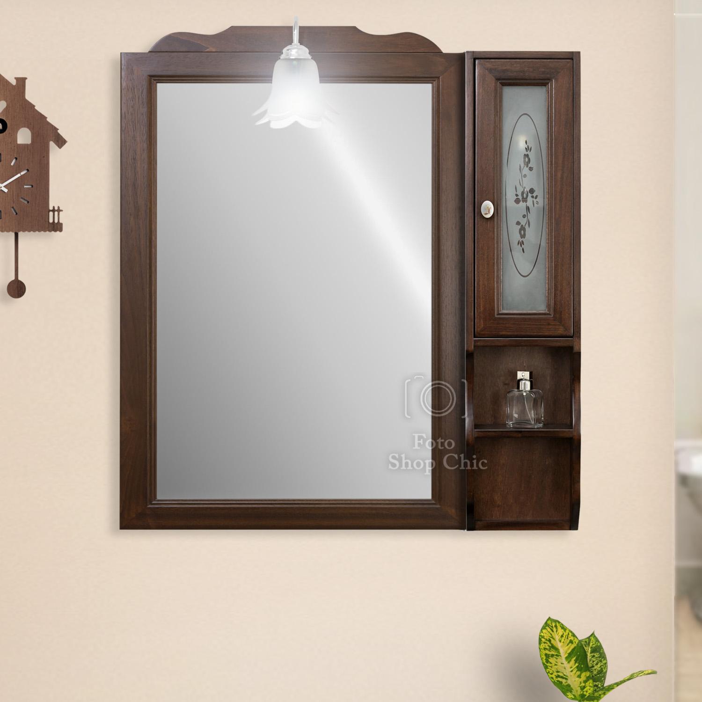 Specchio Bagno Arte Povera.Specchio Da Bagno In Arte Povera Le Chic Arredamenti