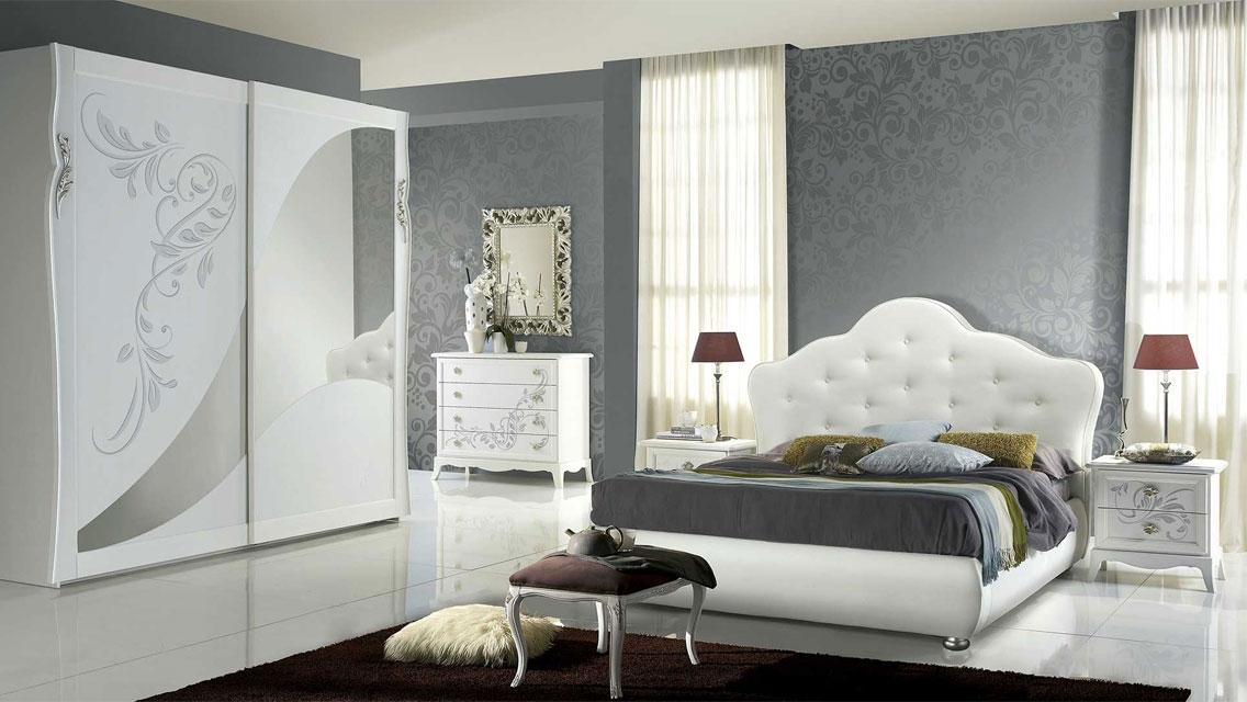 Camere Da Letto Moderne Contemporanee.Camera Da Letto Contemporanea Luxury Bianco Frassinato Le Chic