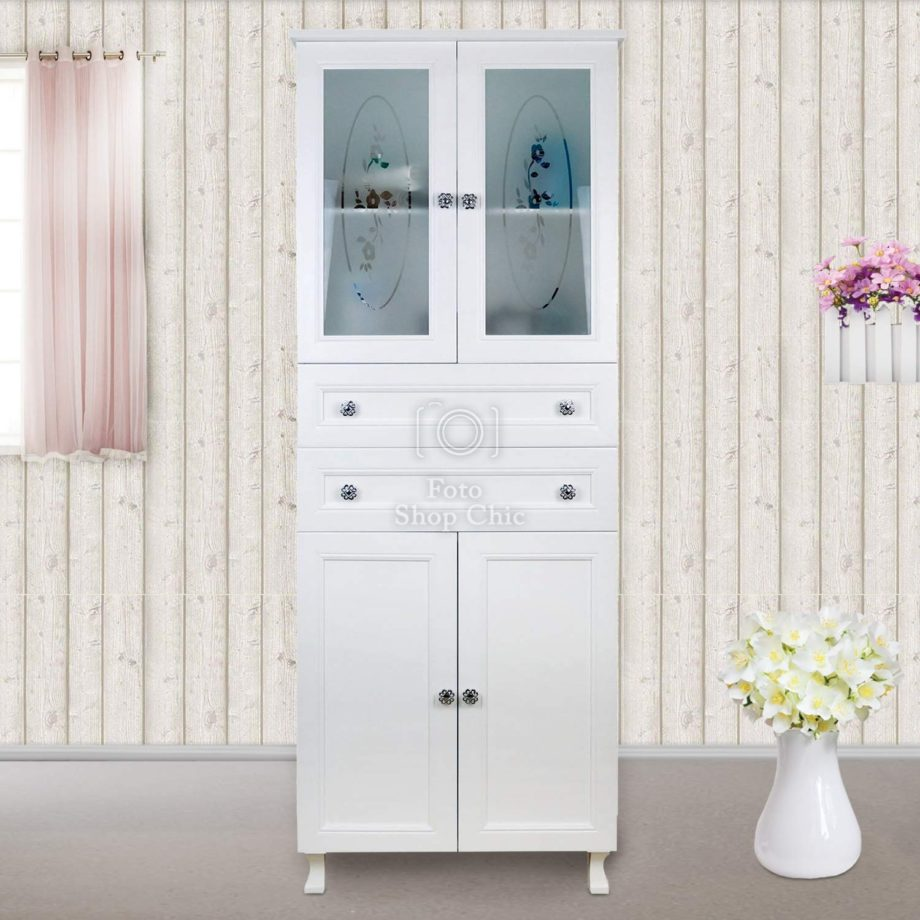 Mobile a colonna shabby chic
