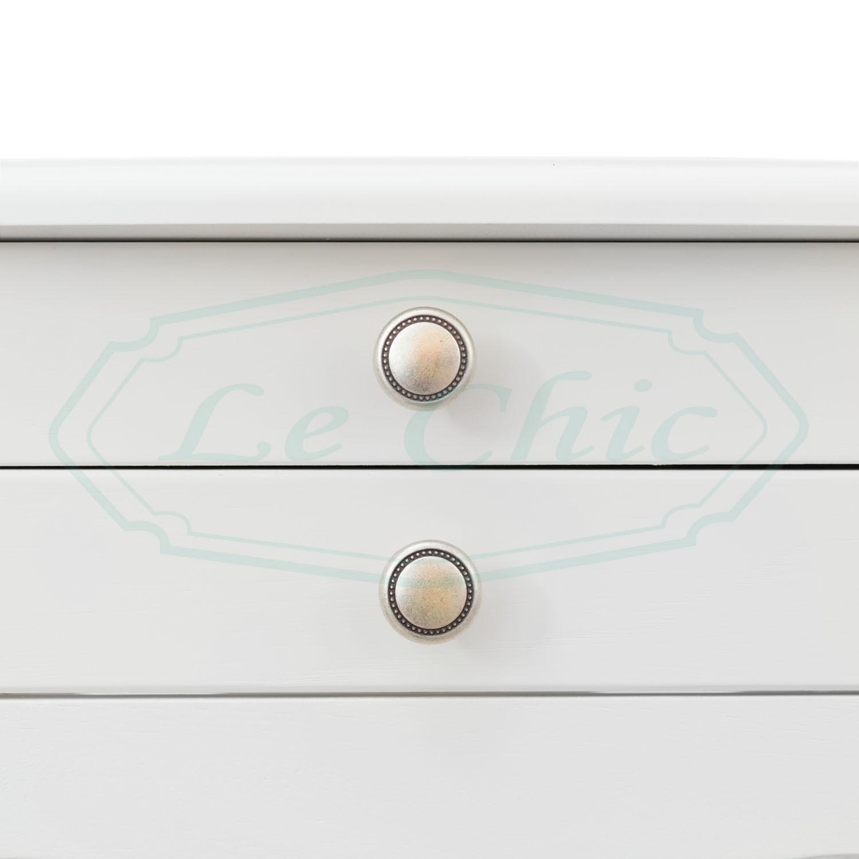 Tavolo Legno Bianco Decapato.Tavolino Rettangolare Shabby Chic In Legno Bianco Lusso Con