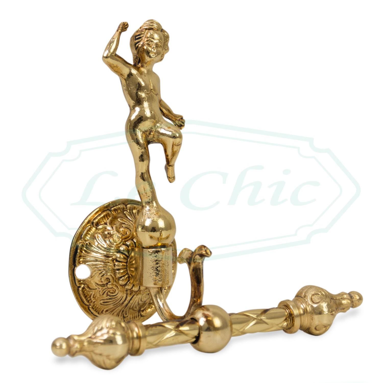 Accessori Bagno Ottone Oro.Set Accessori Bagno Imperial Barocco Style In Ottone Bagno Oro Francese Le Chic Arredamenti