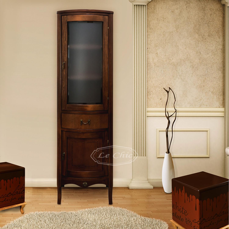Mobili Soggiorno Classici Legno colonna london classica color noce in legno massiccio