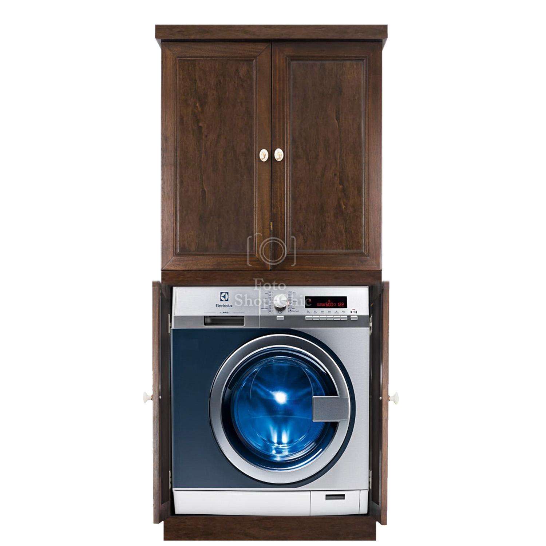 Colonna Per Lavatrice E Asciugatrice mobile colonna con ante porta lavatrice e asciugatrice salvaspazio